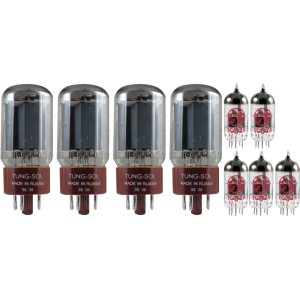 Tube Complement for Soldano 100w Super Lead Overdrive (SLO-100)