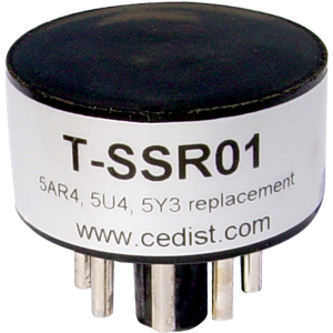 Solid State Rectifier for 5AR4, 5U4, 5Y3 Tubes