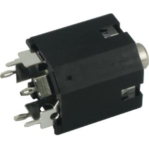Jack - Amphenol, 3.5mm, Vertical, PCB