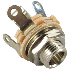 "Jack - Switchcraft, 1/4"", Mono, 2-Conductor, Type 12A"