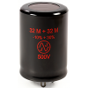 Capacitor - JJ Electronics, 500V, 32/32 μF, Electrolytic image 1