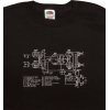 Shirt - Black with Amplifier Schematic image 1