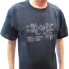 Shirt - Black with Amplifier Schematic image 2