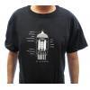 Shirt - Black with 12AX7 Tube Diagram image 2
