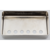 Cover - Humbucker, P.A.F., 49.2mm, Nickel Silver, USA image 2