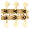 Tuners - Gotoh, Classical Guitar, Engraved Solid Brass image 2