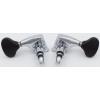 Tuners - Gotoh, Midsize 510 Black Plastic, Chrome, 3 per side image 3