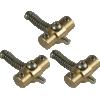 Bridge Saddles - Gotoh, with Adjustable Pivot, brass, set of 3 image 1