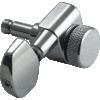 Machine Head - Kluson, 3+3, Locking, Large Metal Button image 4