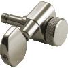 Machine Head - Kluson, 3+3, Locking, Large Metal Button image 6