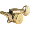 Machine Head - Kluson, 6/line, Oval Metal Button image 2
