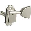 Tuner - Kluson, Nickel, Metal Keystone knob, 3 per side image 1