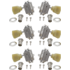 Tuners - Grover, Vintage, 3 per side image 2