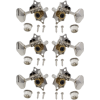 Tuners - Grover, Sta-Tite, 3 per side vertical, nickel image 1
