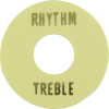 Switchwashers - Rhythm/Treble, Gold Lettering, for Les Paul image 1