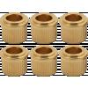 """Bushings - Kluson, 1/4"""" bushings, for retrofitting image 3"""