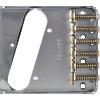 Bridge - Fender®, for Tele, 6 Barrel Saddles, Chrome image 3