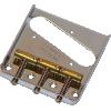 Bridge - Fender®, 3-Saddle, for Vintage Telecaster image 1