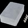 "Chassis Box - Hammond, 1590B3, Diecast, 4.57"" x 3.03"" x 1.32"" image 1"