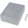 "Chassis Box - Hammond, Unpainted Aluminum, 4.7"" x 3.7"" x 1.5"" image 1"