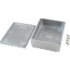 "Chassis Box - Hammond, Unpainted Aluminum, 4.7"" x 3.7"" x 1.5"" image 3"