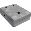"Chassis Box - 1590BB, Diecast, 4.71"" x 3.70"" x 1.18"", predrilled image 1"