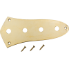 Control Plate - Fender®, for Jazz Bass, Gold image 1