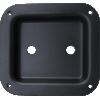 "Jack Plate - 2-Hole, Metal, 4.02"" x 4.41"" image 1"