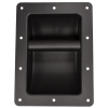 Handle - Black Metal, Recessed for Cabinet image 1