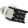 Footswitch - 3PDT, black body, Solder Lugs, Low Profile image 2