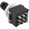 Footswitch - 3PDT, black body, Solder Lugs, Soft Click image 5