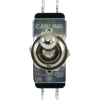 Switch - Carling, Toggle, DPDT, On-On, Short Bat image 2