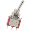 Switch - Carling, Mini Toggle, SPDT, 2 Position, Solder Lugs image 2