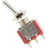 Switch - Carling, Mini Toggle, SPDT, 3 Position, Solder Lug image 1