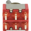 Switch - Carling, Mini Toggle, DPDT, 2 Position image 3