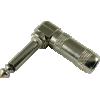 """1/4"""" Plug - G&H, Mono, Right Angle, Nickel, Copper Core image 1"""