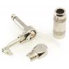 """1/4"""" Plug - G&H, Mono, Right Angle, Nickel, Copper Core image 2"""