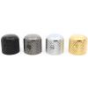 Knob - Gotoh, Dome, set screw, knurled for grip image 1