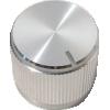"Knob - Aluminum, Notched Tip Indicator, Set Screw, .75"" Diameter image 1"