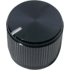 "Knob - Aluminum, Notched Tip Indicator, Set Screw, .75"" Diameter image 2"