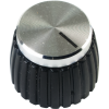 Knob - Push-On, Marshall Style, black image 1