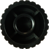 Knob - Push-On, Marshall Style, black image 3