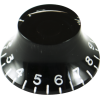 Knob - Top Hat, Embossed Numbers, Gibson Style image 3