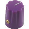 Knob - Scalloped Edge, Indicator Line, Set Screw image 3