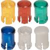 LED Lens - Fresnel, Polycarbonate, 5mm image 1