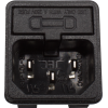 Receptacle - AC power plug with fuse holder, 10A, 250VAC image 1