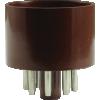 """Tube Base - 8 Pin octal, 1.25"""" diameter image 3"""