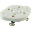 Socket - 4 Pin, Ceramic Plate image 1