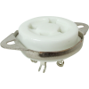 Socket - 4 Pin, Ceramic, Chassis Mount image 1