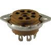 Socket - 7 Pin, Miniature, Micalex, Bottom Mount image 1
